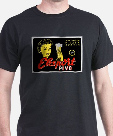 Serbia Beer Label 1 T-Shirt