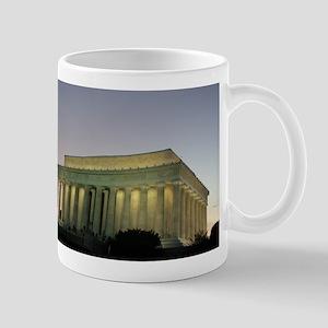 Lincoln Memorial at night Mug