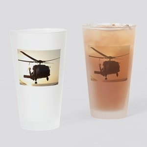 Navy Rescue Helicopter Drinking Glass