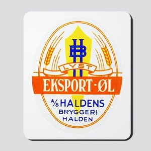 Norway Beer Label 5 Mousepad