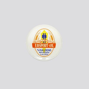 Norway Beer Label 5 Mini Button