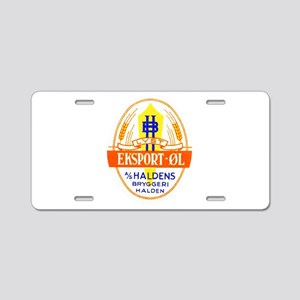 Norway Beer Label 5 Aluminum License Plate