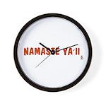 Namaste Ya'll Wall Clock