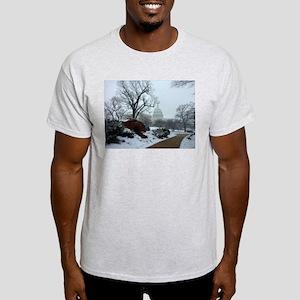 US Capitol Building Snow Photo Light T-Shirt