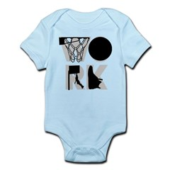 WORK - Basketball Infant Bodysuit