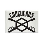 GrogHeads Logo (BIG) Rectangle Magnet