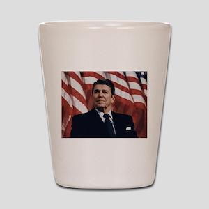 Ronald Reagan Shot Glass