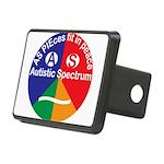 Autistic Spectrum symbol Rectangular Hitch Cover
