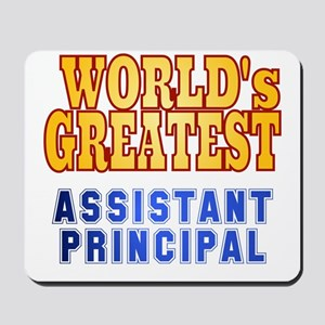 World's Greatest Assistant Principal Mousepad