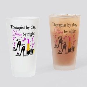 THERAPIST Drinking Glass