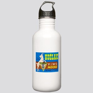 Poland Beer Label 3 Stainless Water Bottle 1.0L