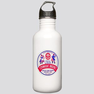 Poland Beer Label 2 Stainless Water Bottle 1.0L