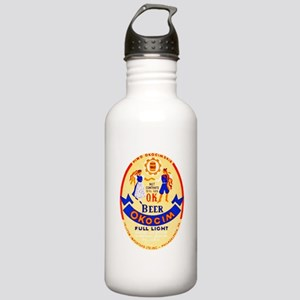 Poland Beer Label 1 Stainless Water Bottle 1.0L