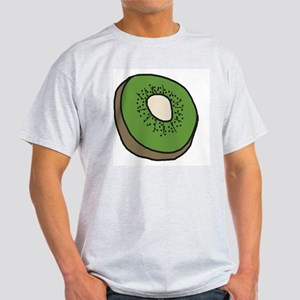 Tasty Kiwifruit Ash Grey T-Shirt