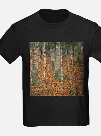 Gustav Klimt Birch Forest T