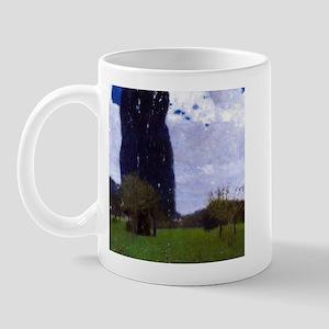 Gustav Klimt The Tall Poplar Trees Mug