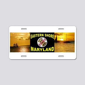 EASTERN SHORE_001 Aluminum License Plate