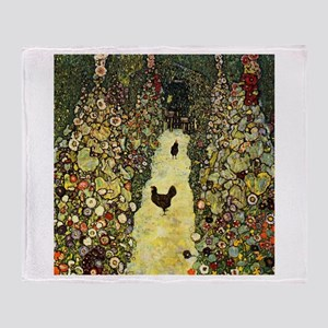 Gustav Klimt Garden Paths With Chickens Stadium B