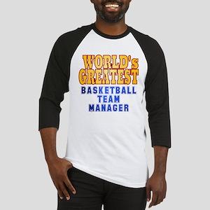 World's Greatest Basketball Team Manager Baseball