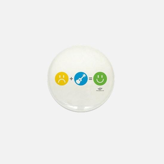 Happy Ukulele Mini Button
