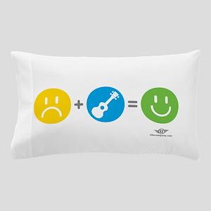 Happy Ukulele Pillow Case