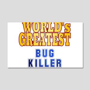 World's Greatest Bug kiler 20x12 Wall Decal
