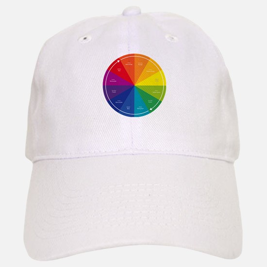 The Color Wheel Baseball Baseball Cap