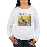 Air guitar Women's Long Sleeve T-Shirt