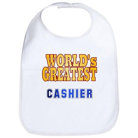 World's Greatest Cashier Bib