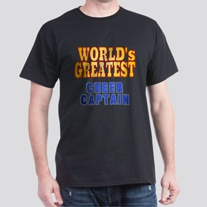 World's Greatest Cheer Captain Dark T-Shirt
