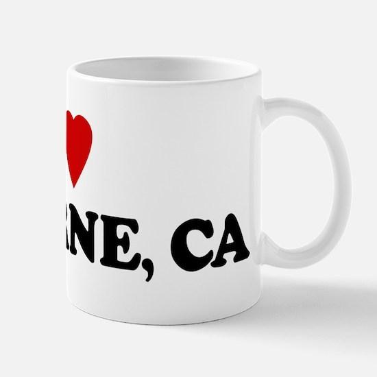 I Love LA VERNE Mug