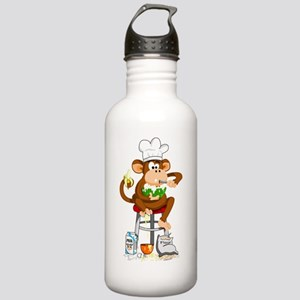 Monkey Chef Stainless Water Bottle 1.0L