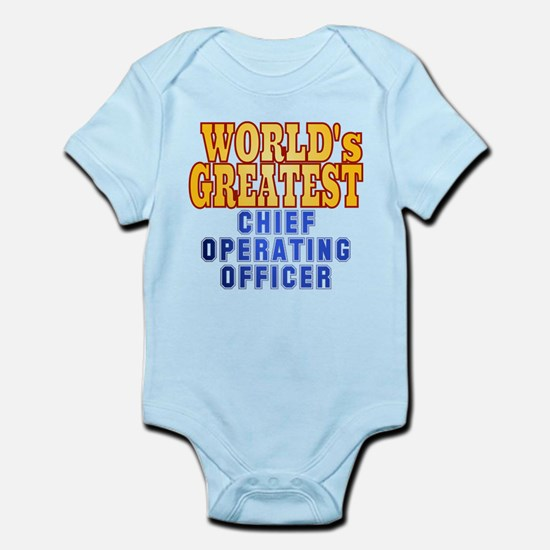 World's Greatest Chief Operating Officer Infant Bo