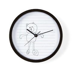 Bear, Wall Clock