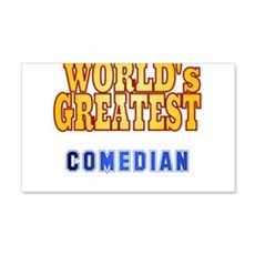 World's Greatest Comedian Wall Decal
