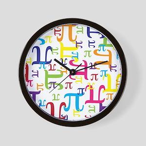 Pieces of Pi Wall Clock