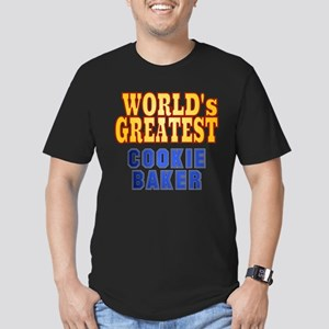 World's Greatest Cookie Baker Men's Fitted T-Shirt