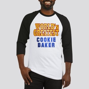 World's Greatest Cookie Baker Baseball Jersey