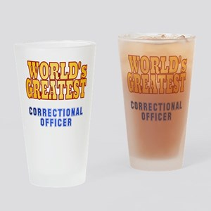 World's Greatest Correctional Officer Drinking Gla