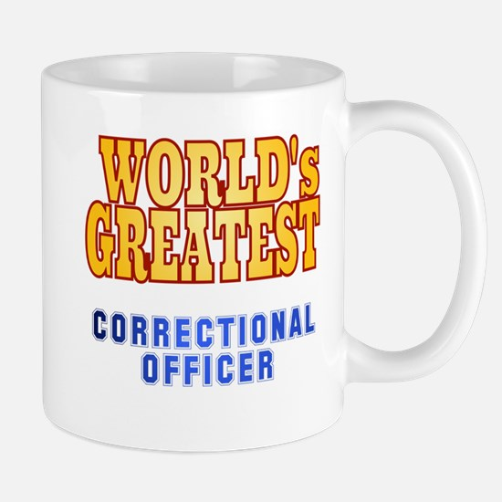 World's Greatest Correctional Officer Mug