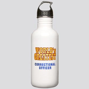 World's Greatest Correctional Officer Stainless Wa