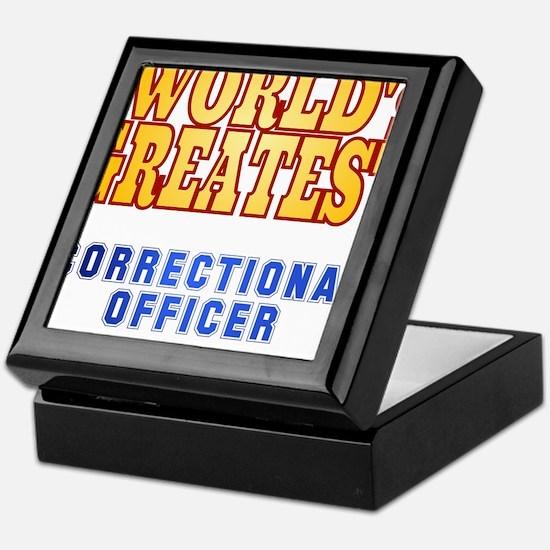 World's Greatest Correctional Officer Keepsake Box