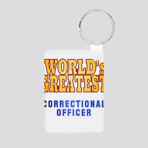 World's Greatest Correctional Officer Aluminum Pho