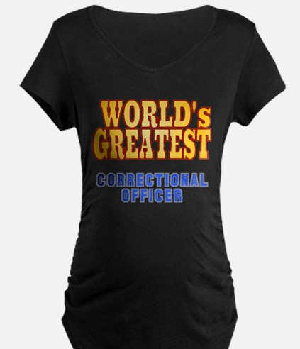 World's Greatest Correctional Officer T-Shirt