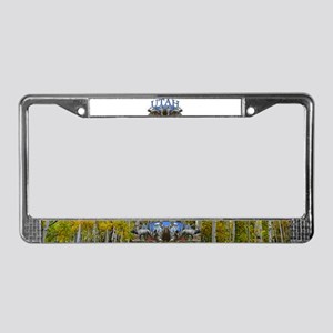 Utah Big Game License Plate Frame