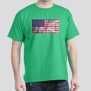 Stars and Stripes Union Dark T-Shirt