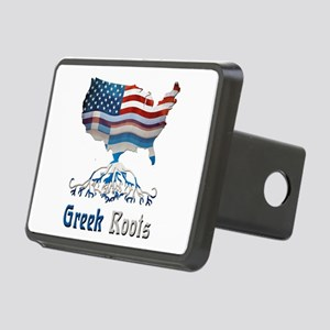 American Greek Roots Rectangular Hitch Cover