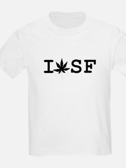 """""""I Weed SF"""" Kids T-Shirt"""