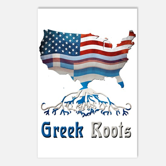 American Greek Roots Postcards (Package of 8)