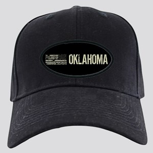 Black Flag: Oklahoma Black Cap with Patch